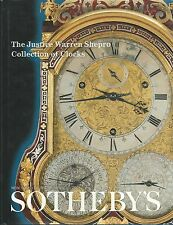 SOTHEBY'S Clocks Justice Warren Shepro Coll English French German HB Catalog 01