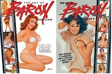 THE ART OF BARON VON LIND Vol 1 & 2  Pin-Up Art $30 Cover *NM/M*