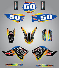 2009 - 2015 Full Graphics, custom kit for KTM 65- SUNRISE STYLE - sticker kit