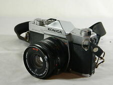 Konica T3 Autorflex Camera/ AR 40mm F1.8 Lens/ 35 mm film/Japan/Shoulder Strap