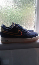 NIKE 2010 AIR FORCE 1 DARK OBSIDIAN DENIM 8.5UK
