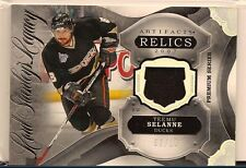 TEEMU SELANNE 2016-17 UPPER DECK ARTIFACTS LORD STANLEY'S GAME USED PATCH /15