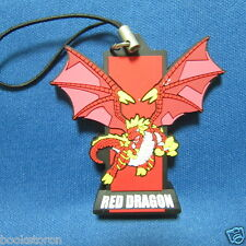 Monster Retsuden Oreca Battle - Red Dragon / keychain key chain Japan Anime 0298