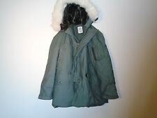 GENUINE USGI US AIR FORCE N-3B EXTREME COLD PARKA W FUR HOOD MEDIUM 1992 NOS U-9