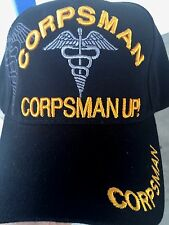 CORPSMAN UP  HAT CAP  WITH MILITARY SHADOW FREE SHIPPING***