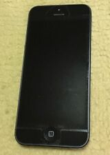 Black Apple Iphone 5 w/ Case & Charger