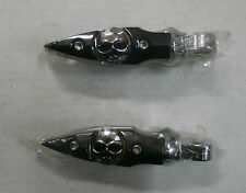 Kuryakyn Harley Davidson (All) Dagger Zombie Skull Cruise Foot Pegs Male Mount