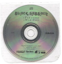 BLACK SABBATH Paranoid / War pigs RARE EUROPE PROMO CD on 50:50 - NEW UNPLAYED
