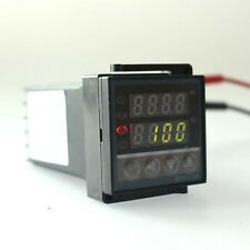 DC 110V 220V  Dual LED Digital PID Temperature Controller REX-C100 SSR Aquarium