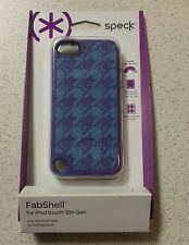 Speck FabShell Purple & Blue Stripe Bats Case For iPod Touch 5th