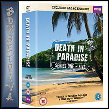 DEATH IN PARADISE- COMPLETE SERIES 1 2 3 4 & 5 *BRAND NEW DVD BOXSET ***