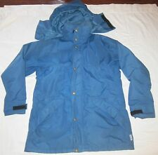 REI Gore-Tex Men's Medium Jacket Coat Shell Ski Waterproof Blue  Made USA Vtg