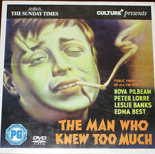 The Man Who Knew Too Much (DVD), Peter Lorre, Leslie Banks, Edna Best