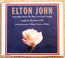 CD Elton John Candle in the Wind 1997 in loving memory of Diana