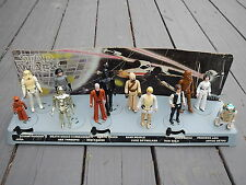 Vintage Star Wars Action Figures Display Stand 1977 Mail Away First 12