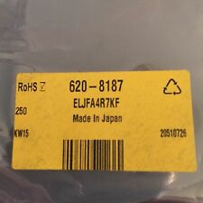 ELJFA4R7KF Panasonic Wire-wound SMD Inductor 4.7 μH ±10% 165mA x 250 pieces