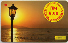 Malaysia Used Phone Card : Beautiful Scene