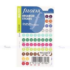 New Filofax Mini/Pocket Size Organiser Stickers NotePaper Refill Insert -210137