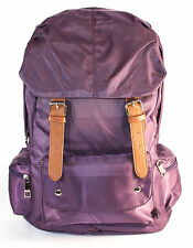 PURPLE Nylon Backpack School Bag!Cute & Stylish in Great Quality