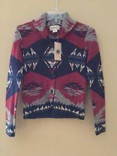 Denim & Supply Ralph Lauren Shawl Cotton Button Front Southwestern Sweater XS