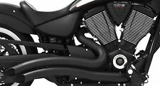 VICTORY VEGAS KINGPIN Sharp curve Radius Exhaust BLACK freedom performance