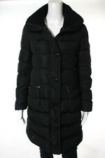Moncler Black Mock Neck Puffer Coat Size Small