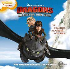 Dragons - Die Reiter von Berk - Folge 1: Die Drachen-Akademie (CD | Hörspiel)
