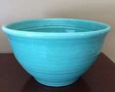 "Vintage Ringware Bauer mixing bowl #12 green 9""x 5"" Free Shipping"
