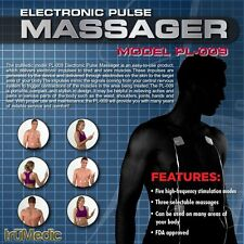 Nerve Relief Pulse Massager Muscle Stimulator truMedic TENS Unit Electronic New