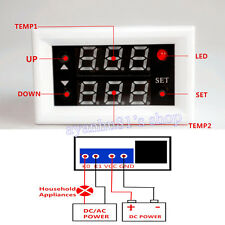 DC 12V 10A Relay Switch Digital Temperature Controller Thermostat Control +Probe