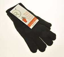 New Radio Shack Whole Hand Touch Screen Gloves Womens Black M/L Medium Large