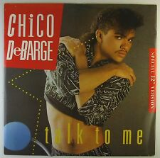 "12"" Maxi - Chico DeBarge - Talk To Me - L5462h - washed & cleaned"