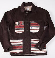 Very Rare POST O'ALLS x AKIZ Indian Blanket Engineer's Jacket S/M Overalls