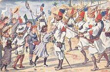 """X541) GIOVANI DELLA RIVISTA """"JUVENTUS"""" DECORANO GLI ASCARI COMBATTENTI IN LIBIA."""