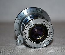 20% OFF! RARE RUSSIAN USSR TUBE COLLAPSIBLE FED LENS f3.5/50 M39 for FED/ZORKI