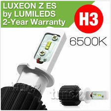 H3 LED Philips LUXEON Z ES Headlamp Headlight 6500K Lumileds Car Bulb CSP Light