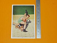 BERLIN 1936 JEUX OLYMPIQUES OLYMPIA EHRL & FÖLDEAK LUTTE DEUTSCHLAND