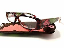 Vera Bradley Tortoise Reading Glasses Phyllis Lola NEW +1.50 Readers