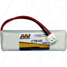 2.4V Replacement Battery Compatible with GP VTHC04RN00