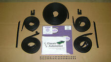 Weatherstrip 9pc Door/Roofrail/Trunk/Vertical/U-Jamb 66-67 Nova **In Stock!**