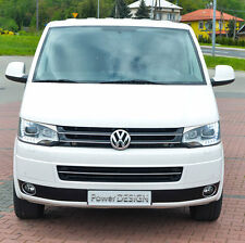 Eyebrows for VW T5 Facelift XENON  2009+ headlight eyelids lids ABS Plastic