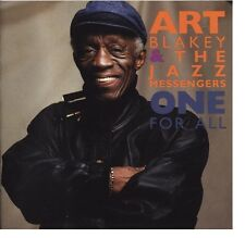 Art Blakey & The Jazz Messengers - One For All Javon Jackson Dale Barlow A&M CD