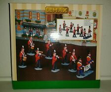 "Lemax ""Christmas Parade Marching Band"" table accents 2009"