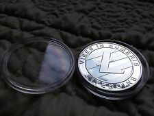 Litecoin LTC physical silver coin (like lealana casascius bitcoin)