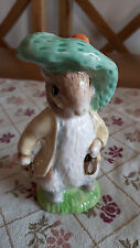 Beswick Ware Benjamin Bunny Gold shoes ears out 1st gold stamp