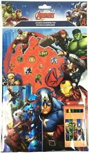 Marvel Avengers Stickers & Colouring Book Christmas Stocking Filler Pack 54872