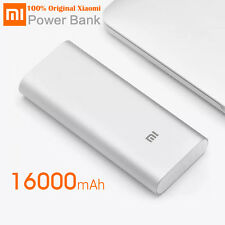 Original Xiaomi Mi Power Bank 16000mAh Portable External Battery Pack Dual USB