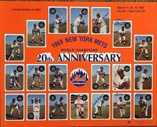 1969 New York Mets Print Signed by 14- Cal Koonce Etc