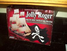 LINDBERG JOLLY ROGER SAILING PIRATE SHIP MODEL KIT