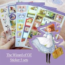 5pcs The Wizard Of OZ Sticker Decoration Scrapbook Planner Diary Gift Wrap